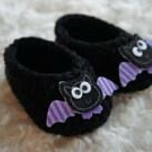 Bat booties SOLD
