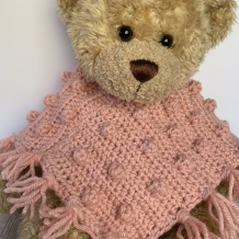 Build-a-bear poncho