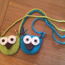 Mini owl purses SOLD
