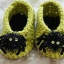 Spider booties SOLD