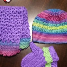 Winter set for my sweet niece.