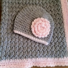 Hat and blanket. Custom order