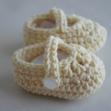 Ivory Mary Janes SOLD